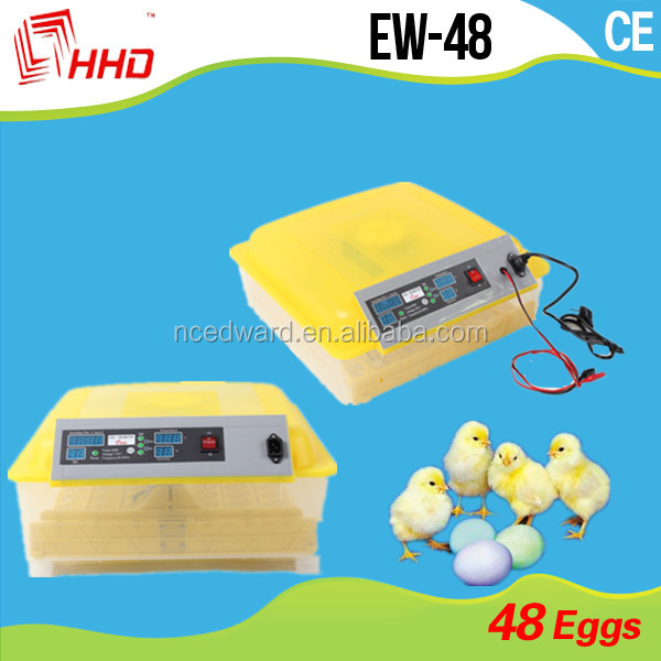quick-selling 48 egg incubator /reliable quality hatchery/ automatic chicken egg farming incubator on sale