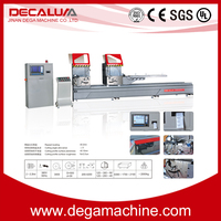 Hot Sale Aluminum and Facade CNC Control Aluminum Extrusion Cutting Machine Window Machine