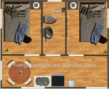 modern portable holiday container house/cabin containr house/hotel