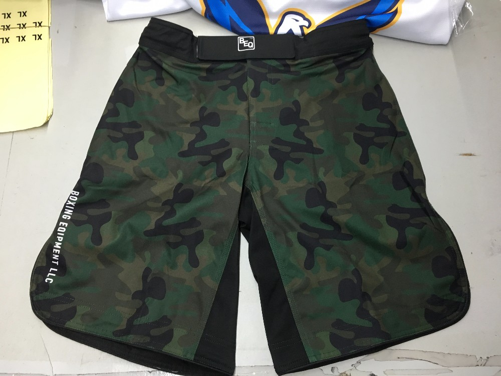 Wholesale New Style Blank Fight MMA Shorts for Sale