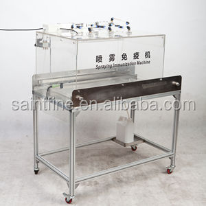 Hatchery automatic poultry vaccinator for day-old chicken