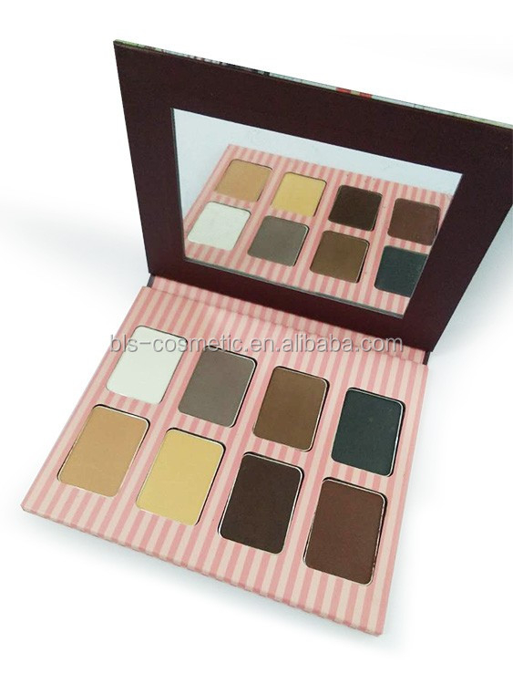 8 Colors Eyeshadow Paper Palette Eye Shadow Make Up Private Label