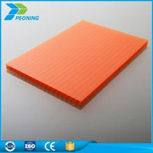 2mm 4mm 6mm 8mm 20mm thickness polycarbonate hollow sheet