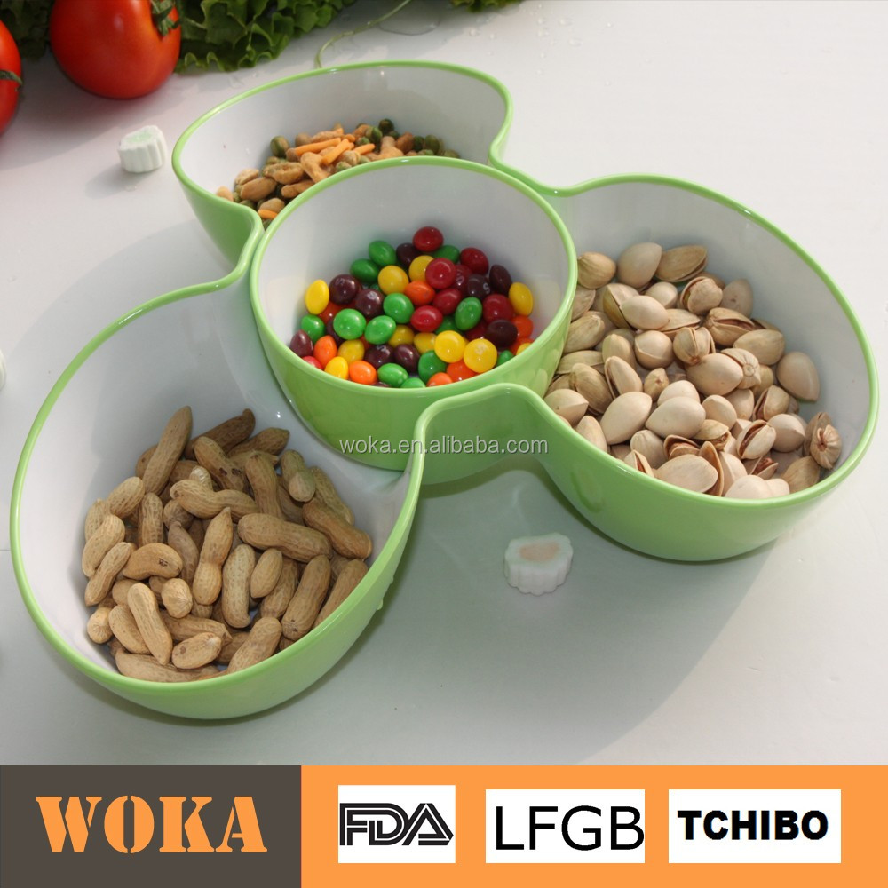 Nice Japanese Plastic food Snak Bowl Dish sets