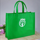 Eco friendly 80-120GSM Non-woven Handled Style giveaway bag