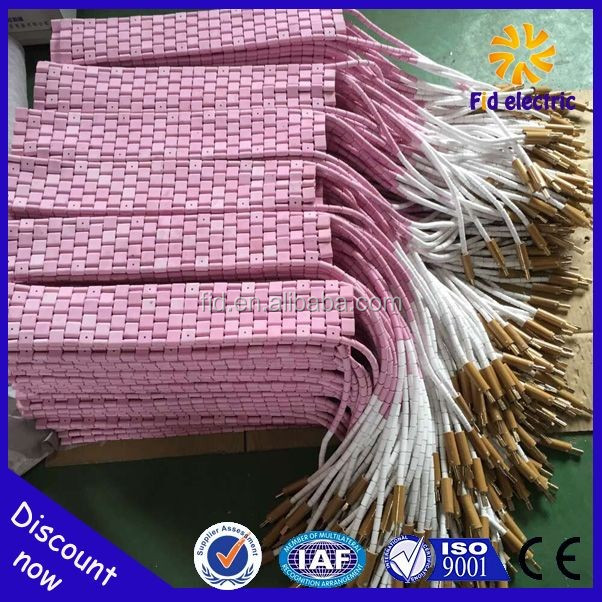 Best Quality Flexible Ceramic Pad Heater Element for Post Weld Heat Treatment