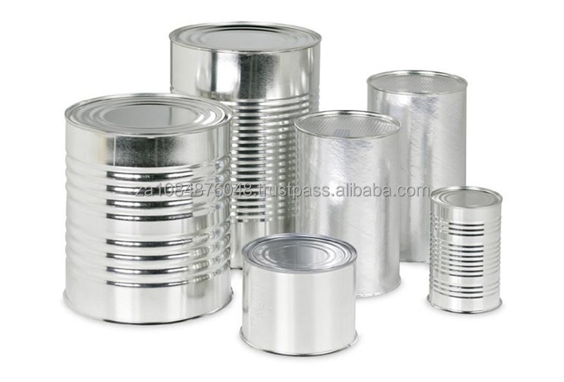 Empty cans for supply