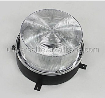 Round Induction Ceiling Light 40W~150W 110V/220V/277V PC Cover