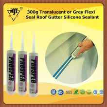 300g Translucent or Grey Flexi Seal Roof Gutter Silicone Sealant