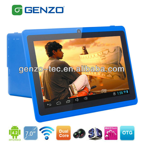 Hot Sale Android 4.1 With GPS ATV FM Radio DUAL SIM Tablet Pc Themes