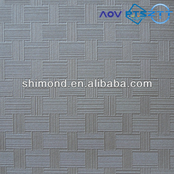 100% Synthetic PVC Leather for Decoration