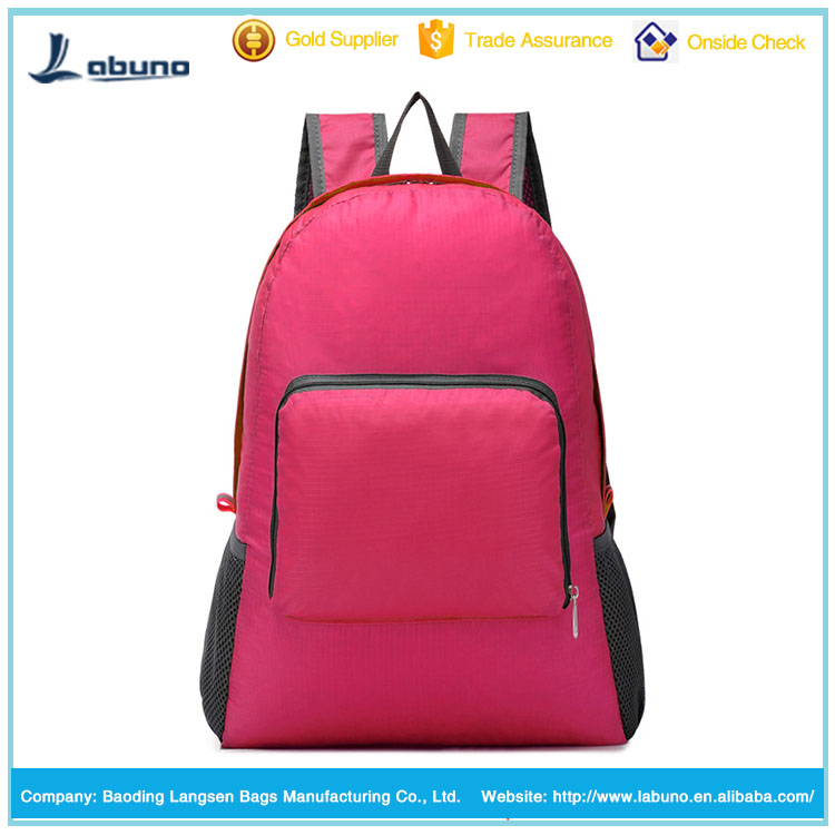 New Unisex Packable Handy Lightweight Travel Backpack Daypack