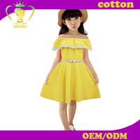 New style baby girls frocks one-shoulder dress for children