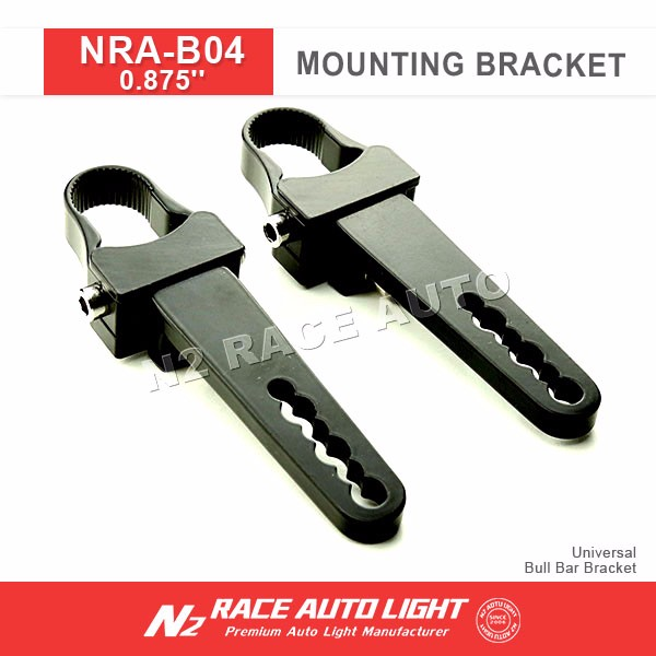 N2 NutoLED Light Bar Universal Bullbar Bull Bar Tube Clamp Roll Mounting Bracket