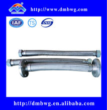 SS304 SS316 Stainless Steel Flexible Metal Hose with joint(flange/thread)