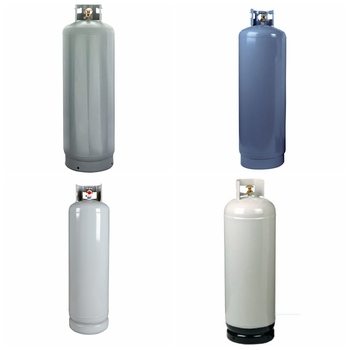 Wholesale 100lb Empty Lpg Cylinder Propane Gas tank Sizes for USA