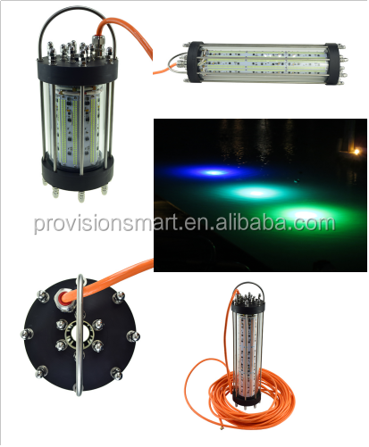 Green Blue White Yellow Red 316-Stainless Steel Aluminum Anti-Rust Deep Drop Sea Fishing Light Led Price