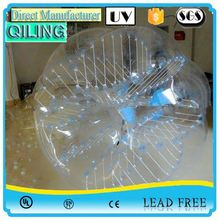 China Gold Supplier New Style 1.0mm PVC led glowing bubble ball sport