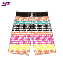 Custom breathable quick dry polyester men board surfing pants beach shorts
