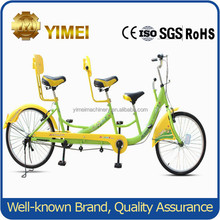 mother-kid three/two people family bike leisure touring bicycles for sale