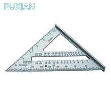 Factory direct sell cheap aluminium triangular compass ruler