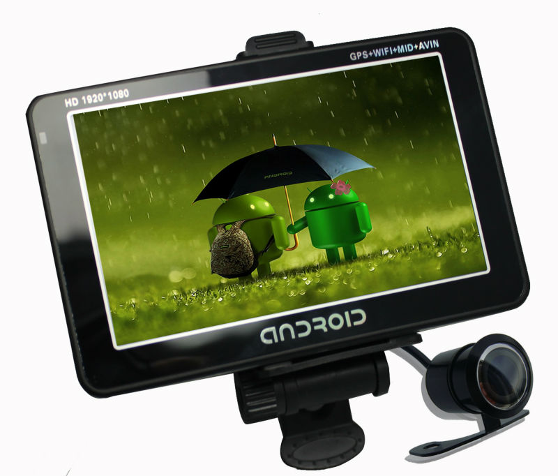 Android Based Full HD Car DVR and Car GPS with Dual Cameras