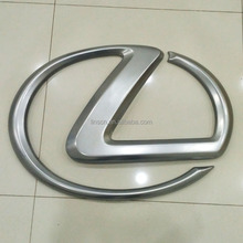 Custom Car ABS Chrome Logo Grill Front Emblem Badge