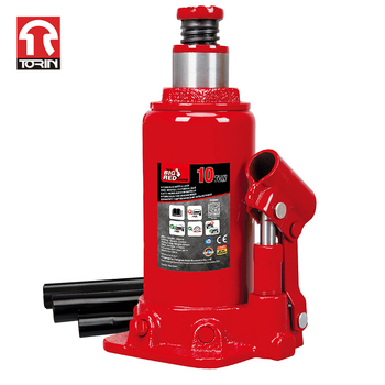 TORIN T91004D Manufacturer Pneumatic 10T Portable Car Hydraulic Bottle Jack