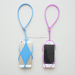Universal smarthones Silicone Lanyard Case Cover Holder Sling Necklace Silicone