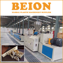 BEION Pvc Wood Plastic Composite Profile Extrusion machine production lines and machinery
