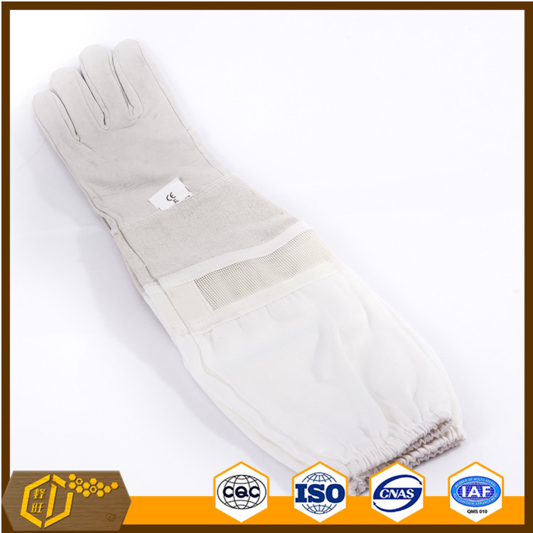 Hot sale sheepskin gloves bee equipment