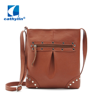 2015 Free Shipping Cathylin Hot New Fashion Women's bag Designer Leather Handbags Wholesale Factory Fashion Lady Messenger Bag