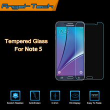 2015 new premium For Samsung Galaxy Note 5 Screen Protector, Tempered Glass Screen Protector for Galaxy Note 5 accept paypal