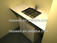 wash basin with cabinet/bathroom sink
