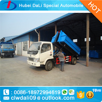 Waste Collection Transport Truck Garbage Compactor Truck