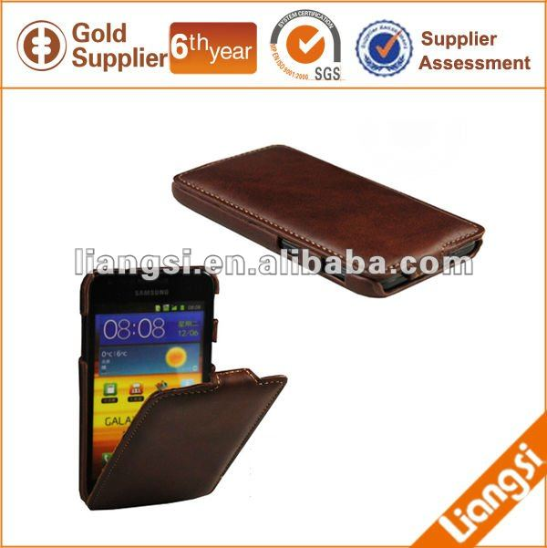 Custom Color Leather Mobile Pouches For Promotion