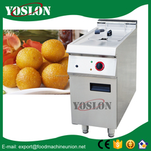 used gas deep fryer with cabinet Guangzhou manufacturer