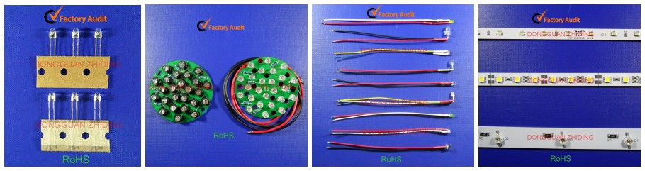 3000K 6000K 5mm 8mm 10mm 0.5W round dip led