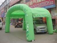 green party tent advertise tent , inflatable garden tent