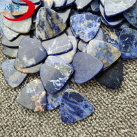 Wholesale sodalite design guitar pick acoustic picks plectrum