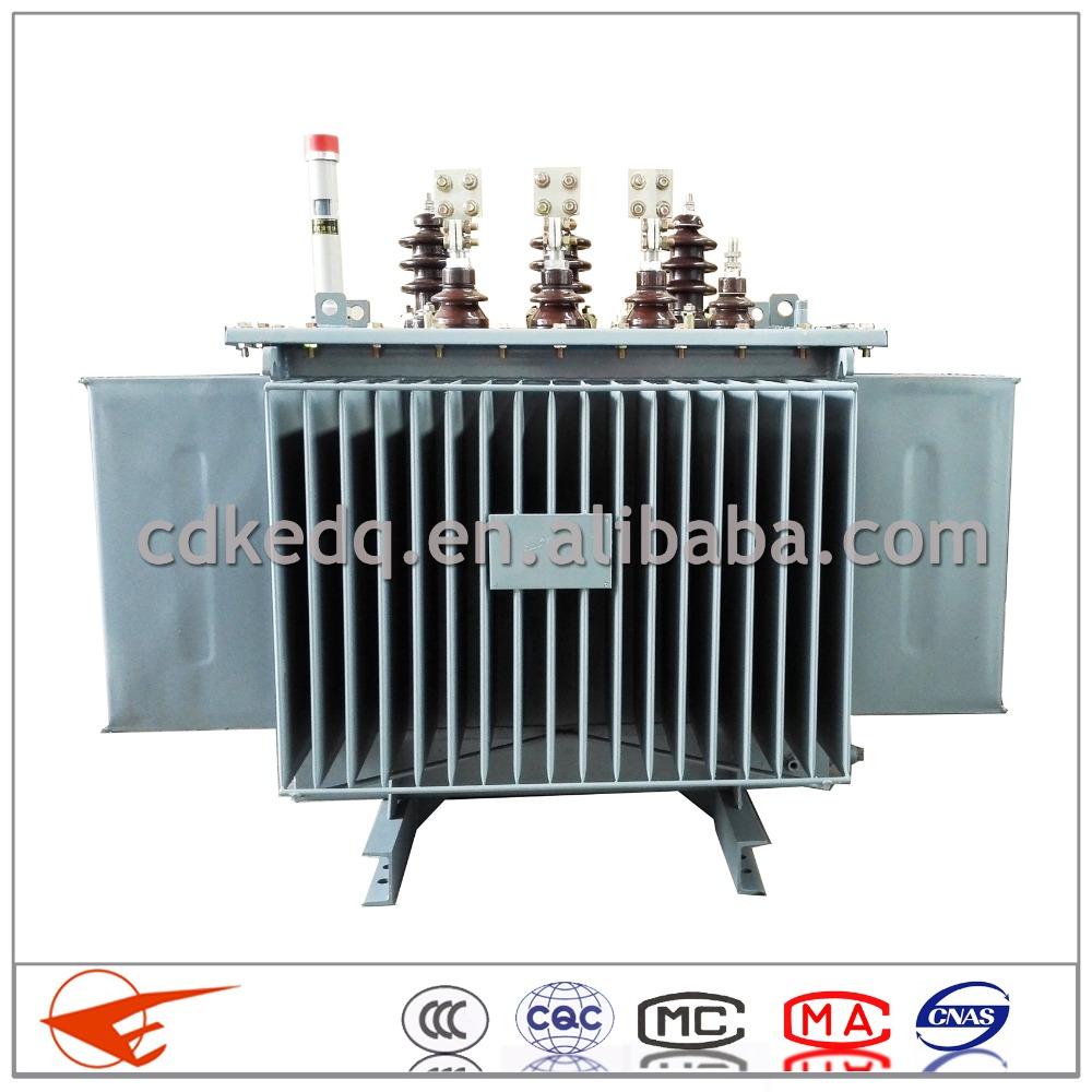 outdoor 50kva sealed electrical oil immersed 10kv distribution transformer