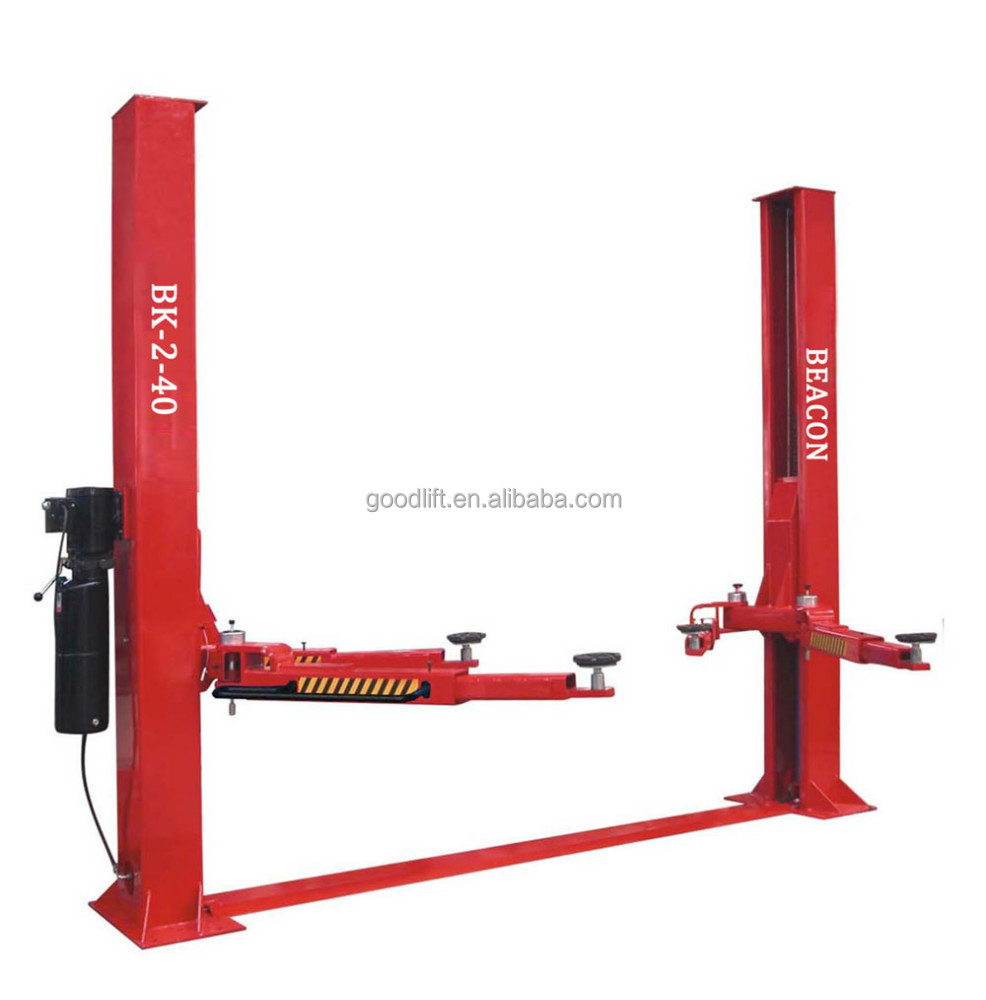 China low price 3.5 ton hydraulic 2 post car lift for sale