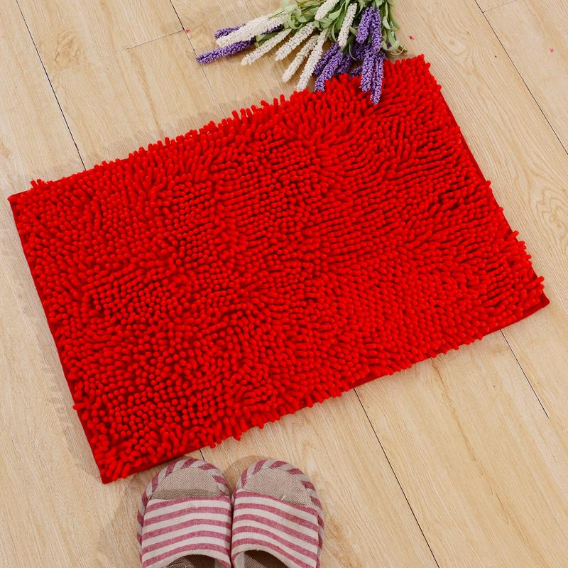 alibaba china fabric microfiber chenille bath mat with high quality