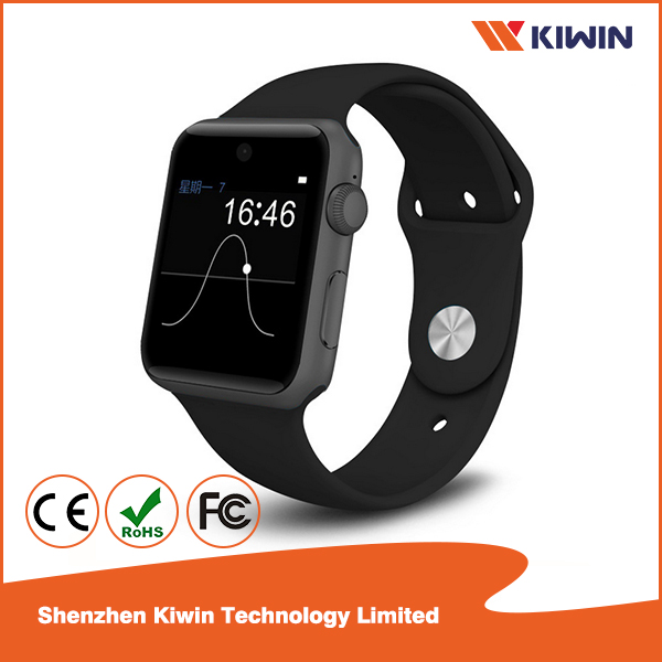 Smart watch phone for iOS Andriod smart phone, 1.54 inch touch screen with Bluetooth4.0,Sleep monitor, Anti-lost
