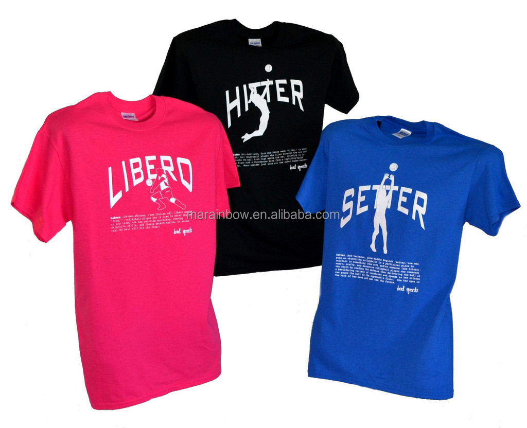 2014 polyester mesh jersey plain design custom printed volleyball t shirt for team wear - Volleyball T Shirt Design Ideas