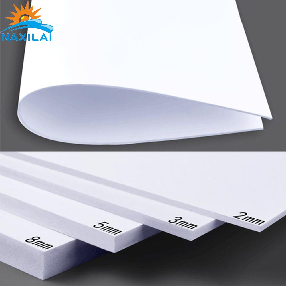 White High Density Soundproof PVC Foam 20mm High Qality PVC Board Cast Plastic Sheet