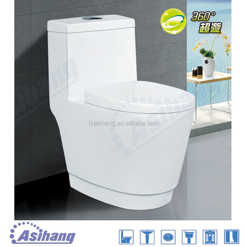 2032 Foshan Manufacturer Sanitary Ware Coloured Toilet