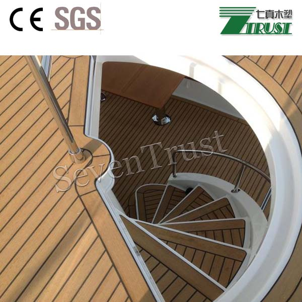 Outdoor leisure decking, PVC deck for boat and yacht