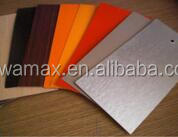 Supply over 200 kinds Solid color of Wilsonart formica hpl / HPL