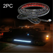 2x Amber SMD LED Light Strip 12V Car Courtesy Signal Yellow Side Marker Module